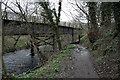 SK2860 : Rail bridge over the Derwent by David Lally