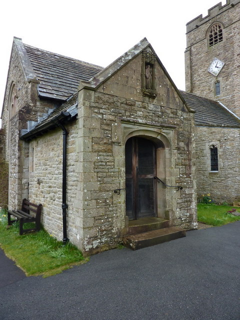 St Bartholomew's Church, Barbon, Porch