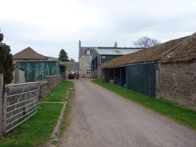 East Lothian Farms : Nether Hailes, near East Linton