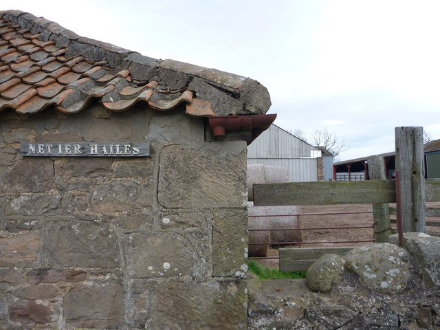 Rural East Lothian : Nether Hailes, near East Linton