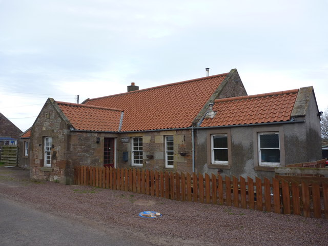 Rural East Lothian : Milnehead Cottage, Nether Hailes