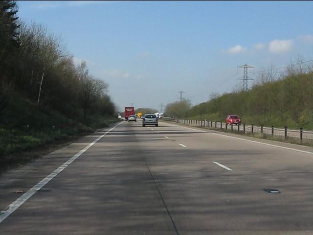 A50 west of Fole Lane