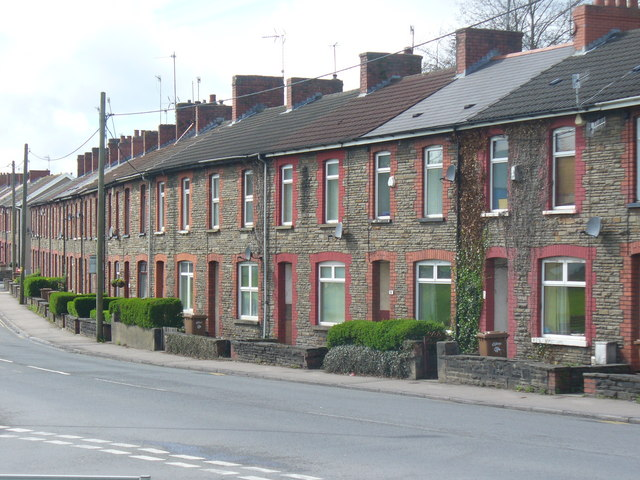 Terraced Housing in Caerphilly