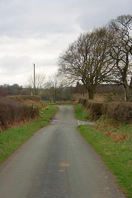 T Junction near Brund Mill