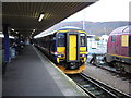 """NN1074 : """"Sprinter"""" Train at Fort William Station by Rob Newman"""
