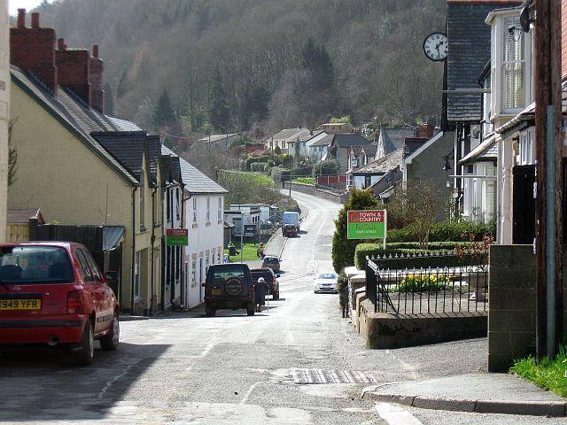 High Street, Glyn Ceiriog