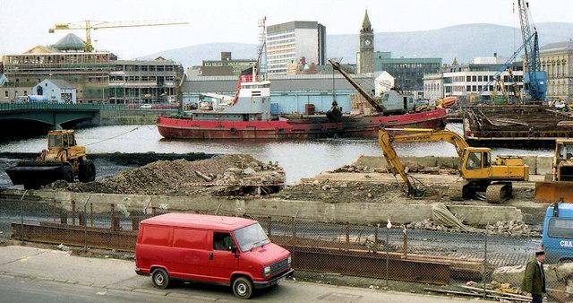 Weir and cross-harbour bridges, Belfast (31)