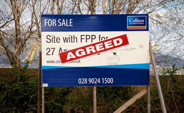 Development site, Sydenham, Belfast (2)