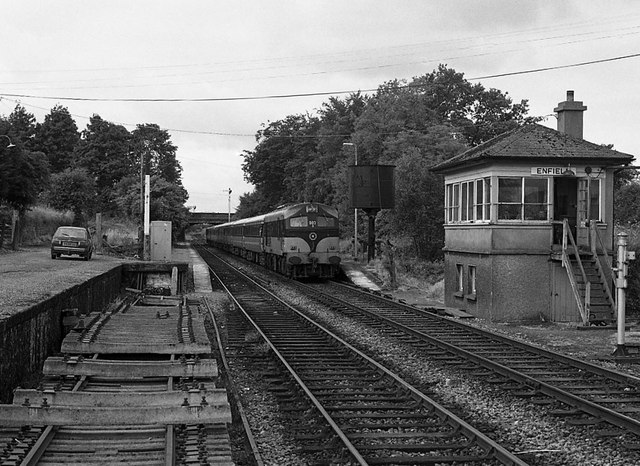 Enfield railway station