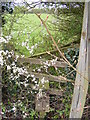 TM3268 : Stile on the footpath to Redhouse Road by Adrian Cable