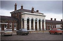 J0154 : Old Railway Station Portadown by The Carlisle Kid