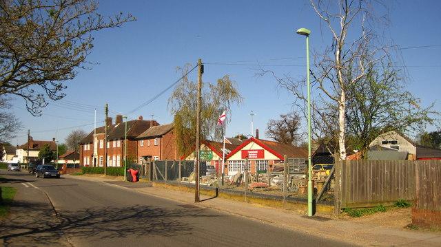 Banyard and Houchell Builder's yard