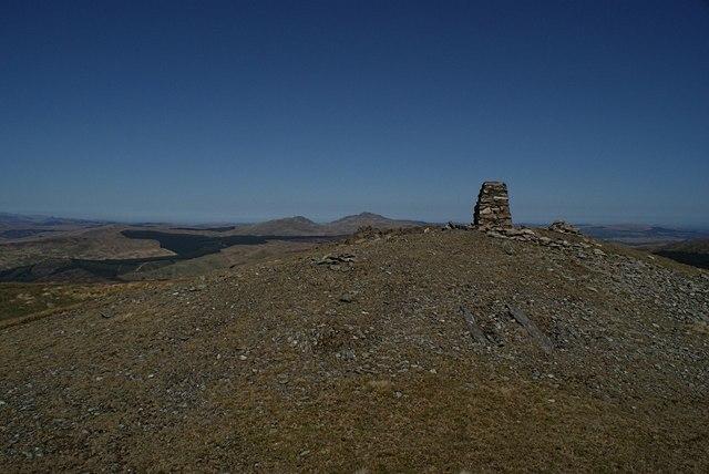 Summit of Rhobell Fawr