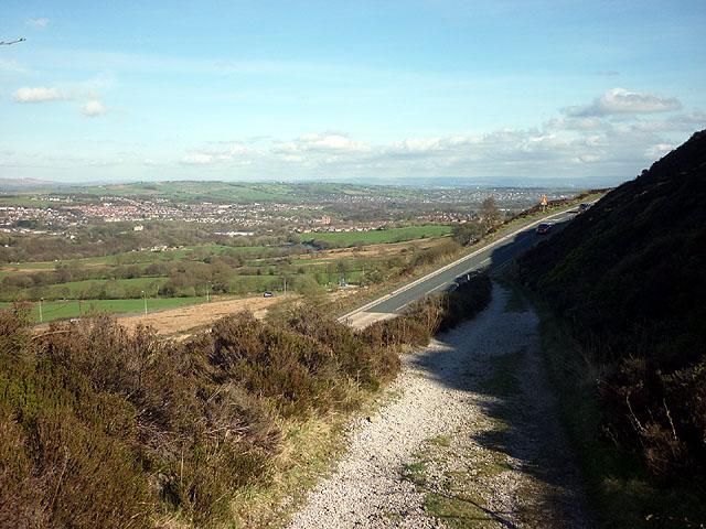 Access track to Wilton Three