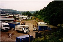 NM8529 : Site of Oban Shed, 1994 by Rob Newman