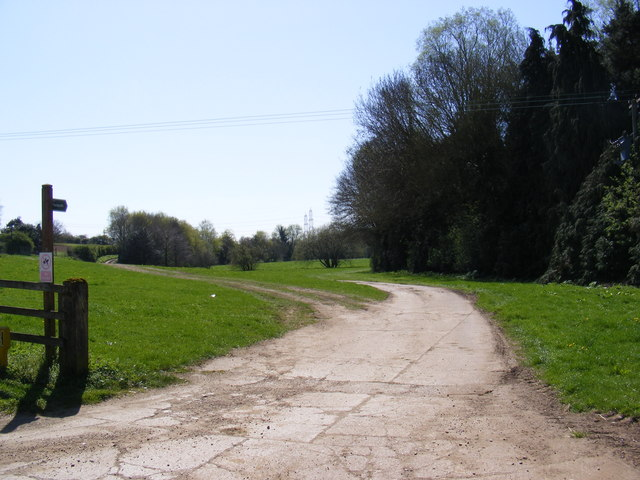 Footpath to Byng  Lane