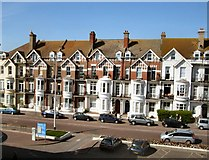 TQ7407 : Hotels on Bexhill Seafront by Paul Gillett