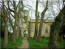 SK9485 : St Andrew's Church, Fillingham, Lincolnshire by Ian S