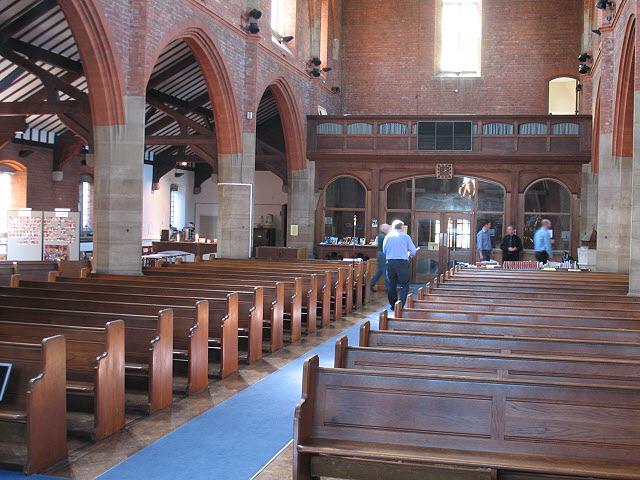 St Luke's church: interior (2)