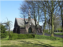 SD6210 : Blackrod Cemetery Chapel by David Dixon
