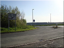 SO9568 : Avoncroft Mini-Roundabout by Rob Newman