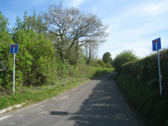 No longer a through road