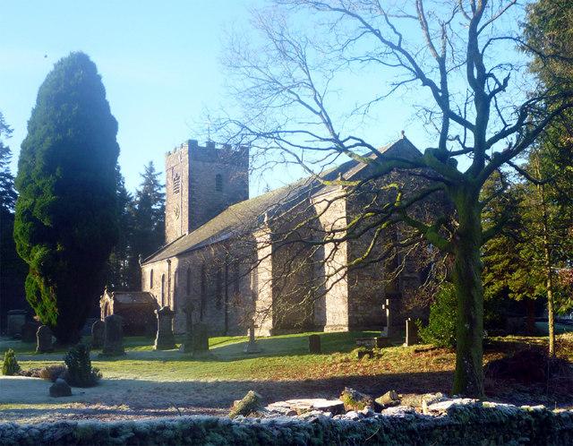St Oswald's church Ravenstonedale
