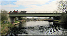 SK5815 : A6 Road Bridge by Mike Todd