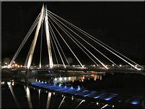 SD3317 : Southport Marine Way Bridge by David Dixon