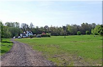 SO8480 : Field near Cookley by P L Chadwick