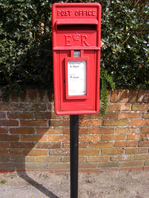 Post Office Woodbridge Road Postbox