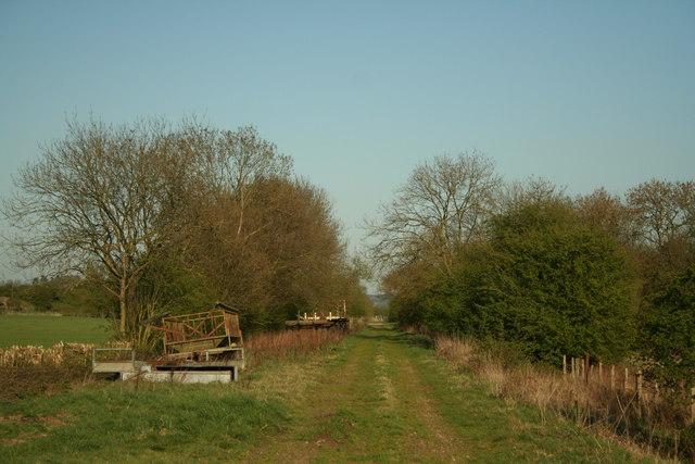 Disused Railway Line Near Ashley
