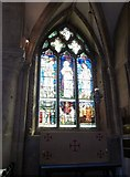 SP5105 : Oxford's Christ Church Cathedral: stained glass window (xii) by Basher Eyre