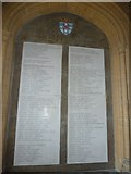 SP5105 : Christ Church College: 1914-1918 war memorial (ii) by Basher Eyre