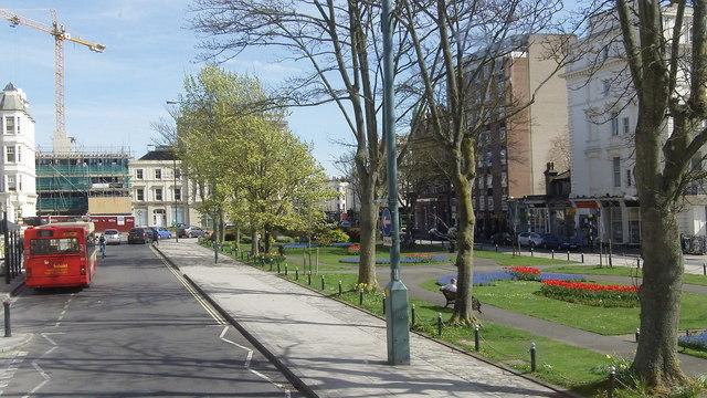 Palmeira Square (B2066), Brighton and Hove