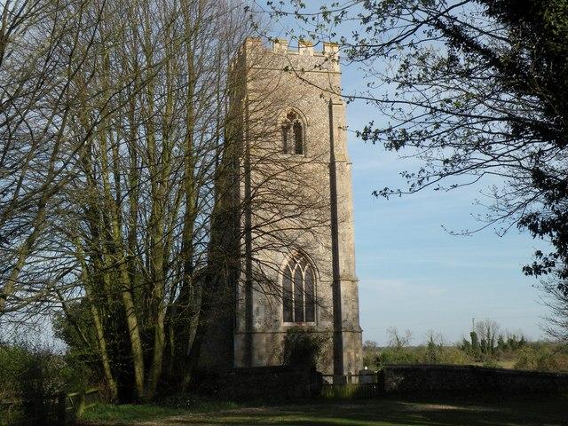 St. Nicholas; the parish church of Kennett