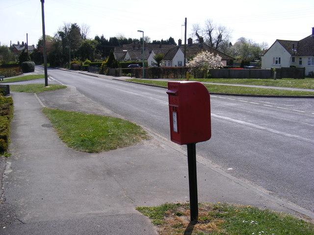 Broad Road & Broadway Postbox