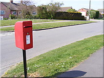 TM2956 : Broad Road & Broadway Postbox by Adrian Cable
