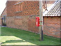 TM2548 : Seckford Hall Postbox by Adrian Cable