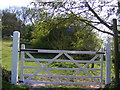 TM2548 : Footpath to the A12 Martlesham Bypass by Geographer