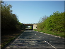 TA0912 : The B1211 goes under the A180 near Croxton by Ian S