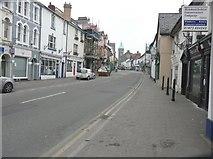 SO3014 : Cross Street, Abergavenny by John Baker