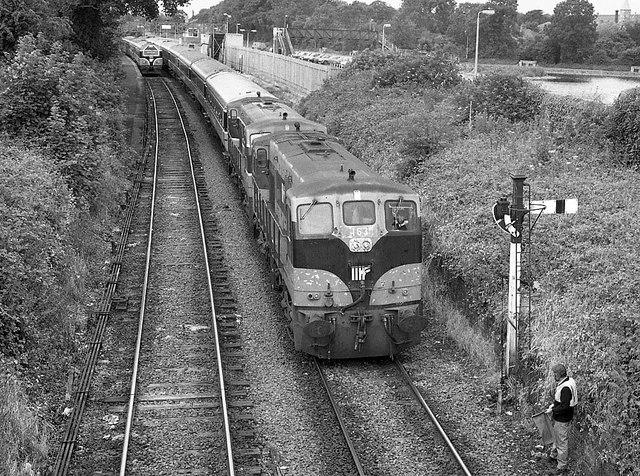 Train at Maynooth