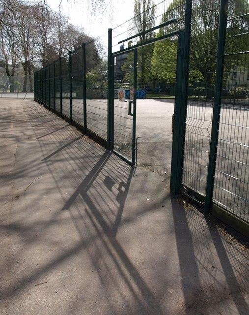Entrance to basketball court, Torquay