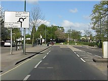 TQ1785 : Harrow Road nearing the Sudbury Town roundabout by Peter Whatley