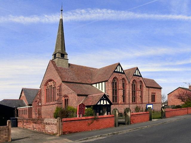 The Parish Church of St John, Birkdale
