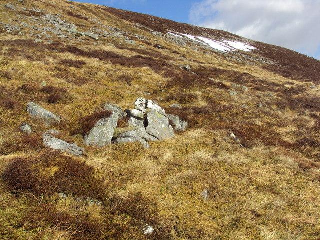 Below Beinn na Lapp SW ridge