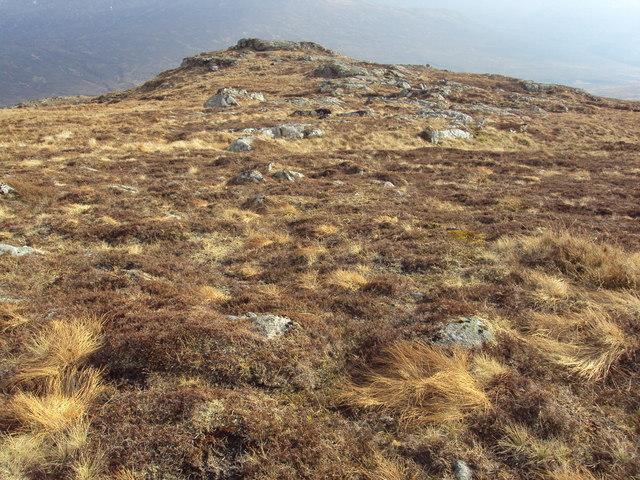 Creagar Craoibhe rocky promontory