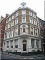 TQ3080 : Corner building - Exeter Street by Enttauscht