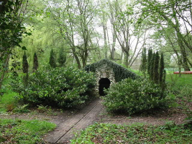 Grotto at West Green House